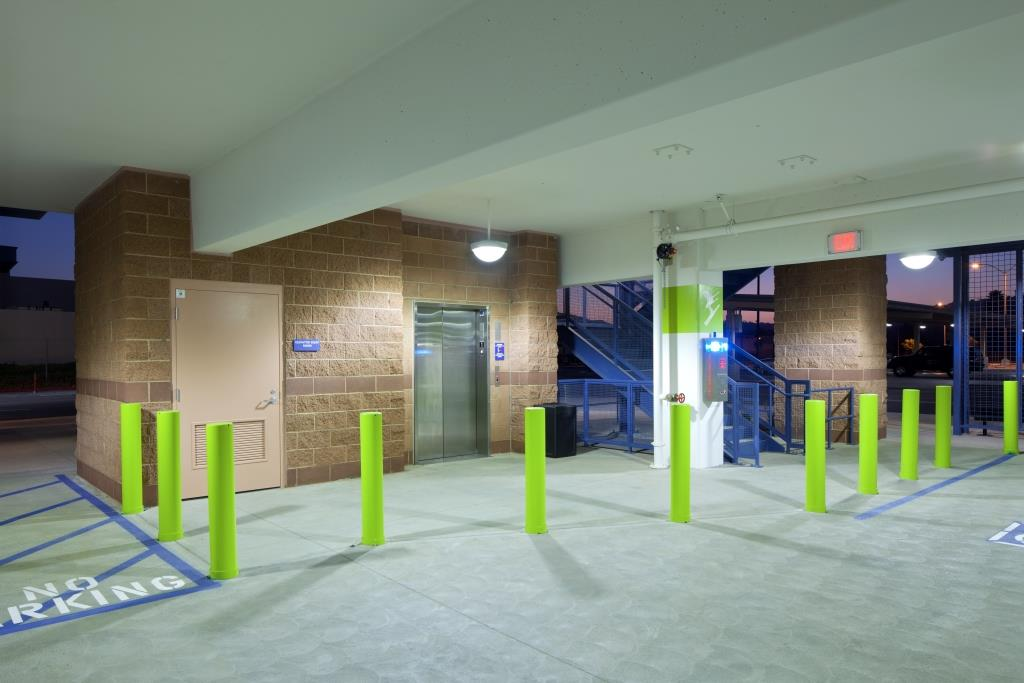 foothill leaving footprints on sustainability walker consultants Parking Garage Wayfinding the new park ride structure provides a convenient connection hub for bus muters traveling into downtown los angeles a huge bonus in a region where