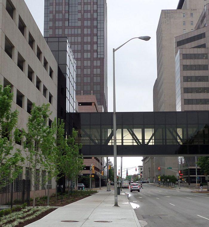 Arbors Of East Atlanta: OneAmerica Parking Garage & Pedestrian Bridge
