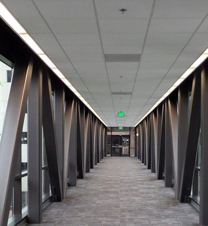 Car Lots In Houston >> OneAmerica Parking Garage & Pedestrian Bridge - Walker Consultants