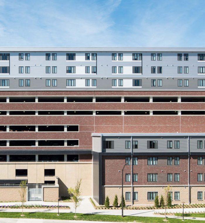 Apartments Near University Of Nebraska Lincoln: University Of Nebraska 50/50 Mixed Use Facility