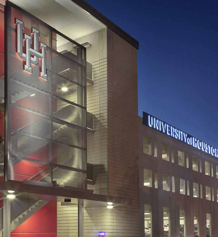 University Of Houston Stadium Parking Garage