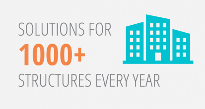 Solutions for 1000+ structures every year