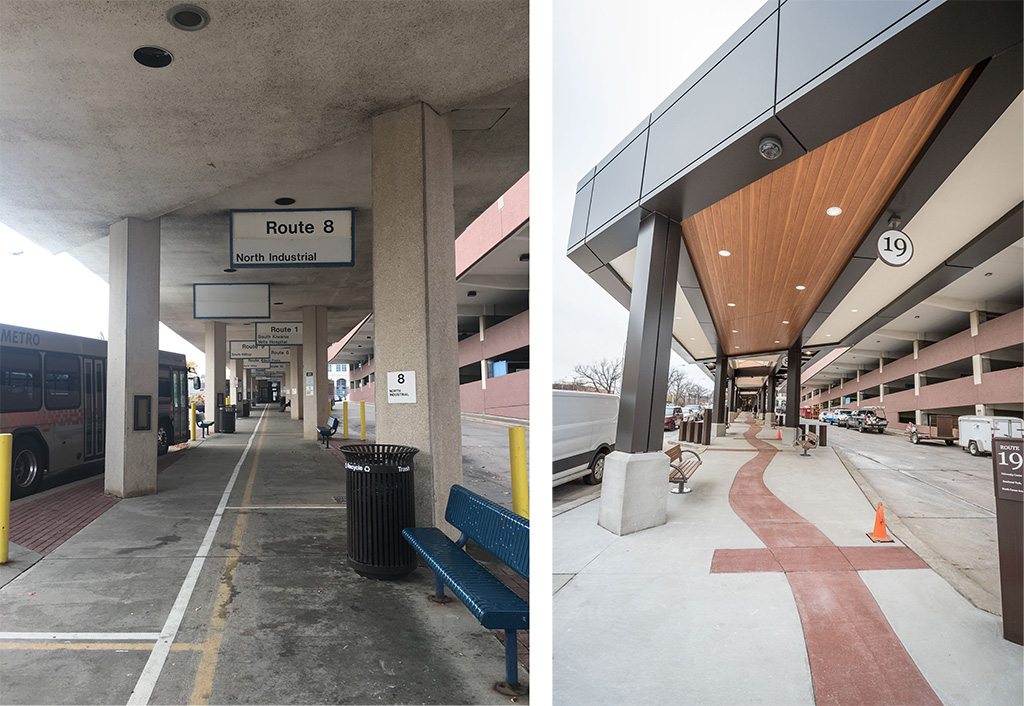 Sioux Falls Transit Center Before-After