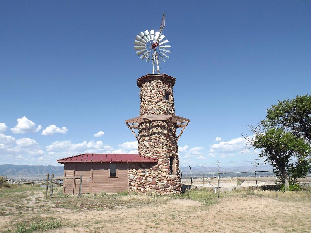 Highlands Ranch Windmill after restoration