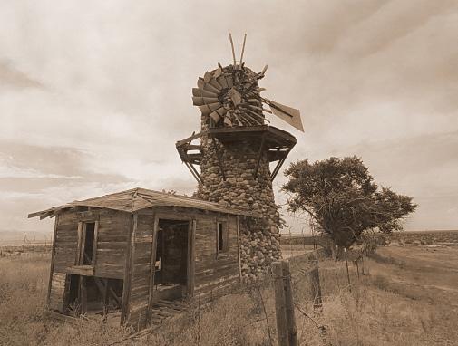 Damaged Highlands Ranch Windmill
