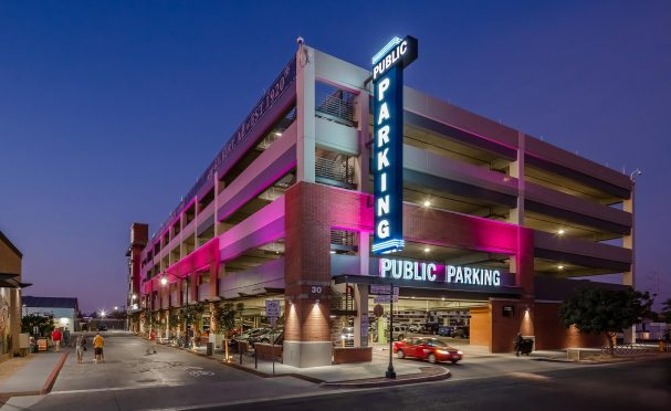 Gilbert Heritage District parking structure
