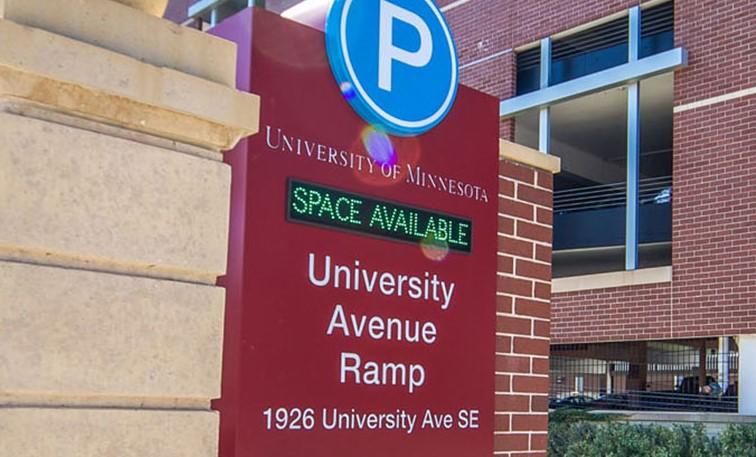 University of Minnesota Parking Ramp