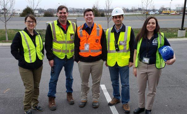 Group photo of Tennessee tornado volunteers