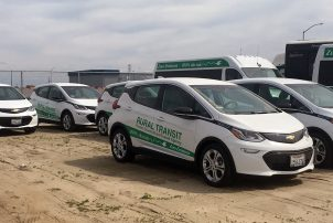 Fresno rural transit electric vehicles