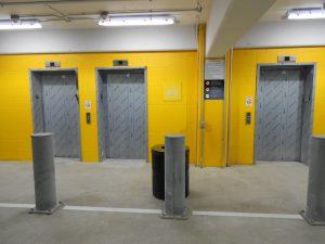 NCH 18th Street Elevator Bank